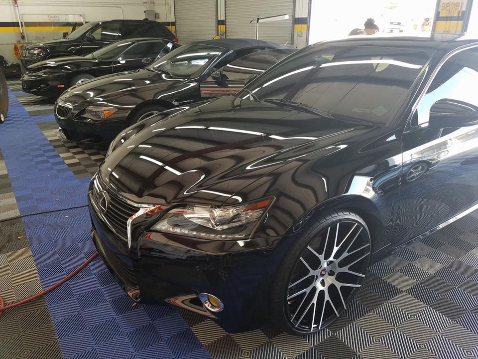 GTechniq paint protection Reeder's Auto Tint & Trim