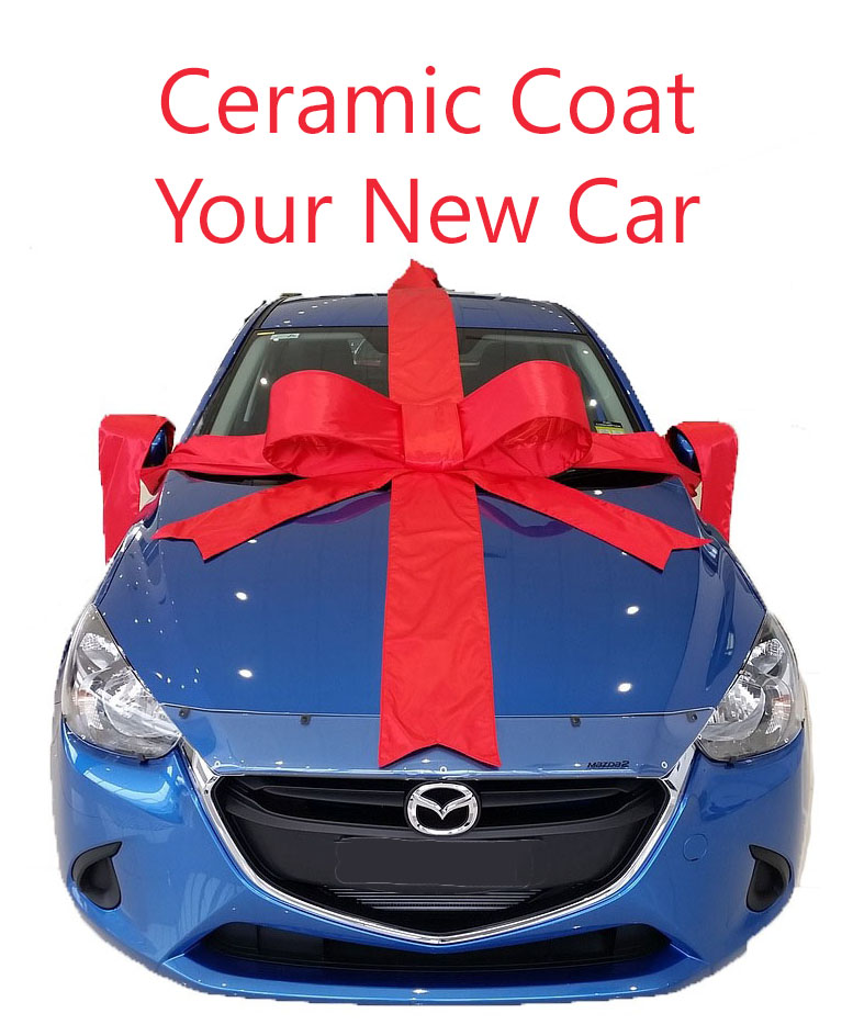 ceramic coating for your new car